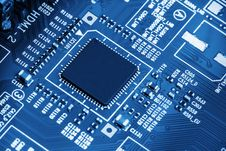 Free Circuit Board Royalty Free Stock Photos - 35603488