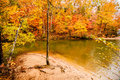 Free Autumn Season At A Lake Royalty Free Stock Photo - 35619455