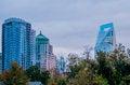 Free Charlotte City Skyline At Night Stock Photography - 35619742