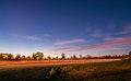 Free Evening Commute Traffic Near Steele Creek Charlotte North Caroli Royalty Free Stock Images - 35619849