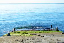 Free Stone Pier Stretching Into The Sea Stock Photo - 35615110