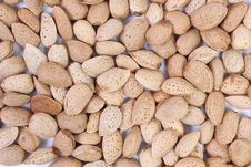 Free Almond Nuts Royalty Free Stock Photo - 35615215