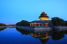 Free Forbidden City Turret Royalty Free Stock Photo - 35616585