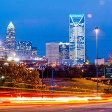 Free Charlotte City Skyline Stock Photos - 35619843