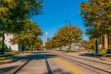 Free Charlotte City Skyline Autumn Season Stock Image - 35619881