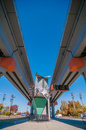 Free Light Rail Train Station In   Charlotte Royalty Free Stock Photography - 35620347