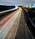Free Evening Highway And Sky Traffic Royalty Free Stock Photography - 35620587