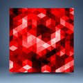 Free Red Geometric Abstract Background Stock Photos - 35622823