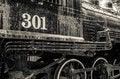 Free Old Black Locomotive Engine Royalty Free Stock Photography - 35623947