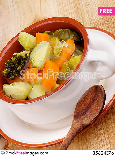 Free Rustic Stew Royalty Free Stock Image - 35624376