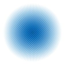 Free Abstract Blue Sphere Stock Photo - 35621520