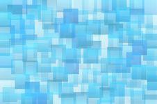 Free Abstract Blue Shades Squares Royalty Free Stock Photo - 35621575