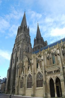 Free Cathedral At Bayeux Royalty Free Stock Images - 35625229