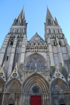 Free Cathedral At Bayeux Royalty Free Stock Image - 35625306