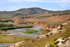 Free Kura River Near Gori City &x28;Georgia&x29; Royalty Free Stock Photo - 35626555