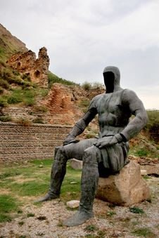Free Sculptural Composition Near The Gori Fortress In Gori City &x28;Georgia&x29; Stock Images - 35627084