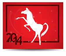 Free Horse And Calendar. Stock Photography - 35628692