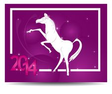 Free Horse And Calendar. Royalty Free Stock Photo - 35628695