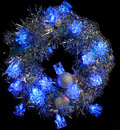 Free Christmas Wreath Royalty Free Stock Photography - 35633287