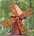 Free Wooden Windmill Royalty Free Stock Photography - 35633747