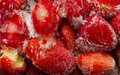 Free Frozen Strawberries Stock Image - 35635811