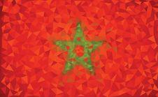 Free Flag Morocco Stock Photos - 35630383