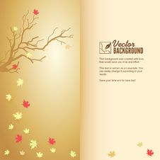 Free Autumn Leaf Fall, Colorful Background Stock Photo - 35635970