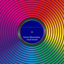 Free Rainbow Envelope For Vinyl, Vector Illustration Stock Photography - 35635982