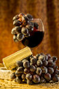 Free Wine And Brie Cheese Stock Images - 35648064