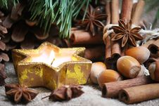 Free Cristmas Background Stock Photography - 35643642