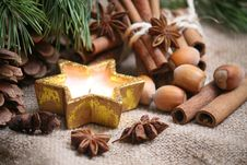 Free Cristmas Background Royalty Free Stock Photography - 35643647