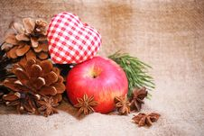 Free Cristmas Background Royalty Free Stock Photography - 35643677