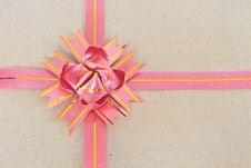 Free Ribbon And Bow Royalty Free Stock Image - 35645326