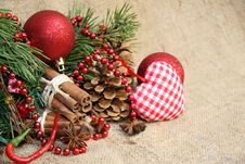 Free Christmas Decoration Stock Image - 35653071