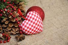 Free Christmas Decoration Royalty Free Stock Photo - 35653095