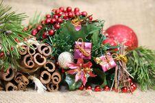 Free Christmas Decoration Royalty Free Stock Image - 35653176