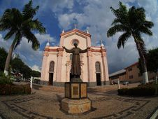 Capuchin Church Stock Photography