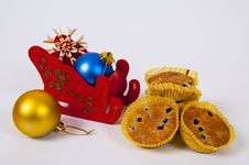 Free Christmas Decoration Royalty Free Stock Photography - 35654627