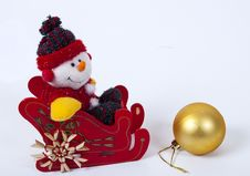 Free Christmas Decoration Royalty Free Stock Photography - 35654837