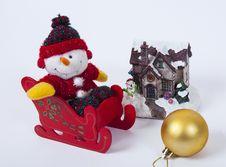Free Christmas Decoration Royalty Free Stock Photo - 35654865