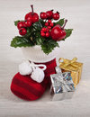 Free Christmas Gifts. Royalty Free Stock Image - 35665406
