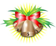 Free Christmas Bells Royalty Free Stock Photo - 35661815