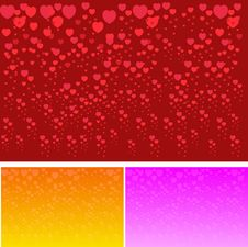 Free Valentines Day Paper Heart Card  Illustration Royalty Free Stock Images - 35662059