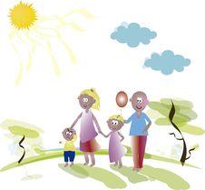 Free Family Stock Image - 35670521