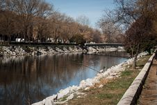 Free Manzanares River Royalty Free Stock Images - 35671969