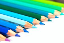 Free Colour Pencils Royalty Free Stock Photos - 35672528