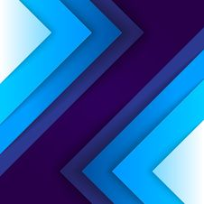 Free Abstract Blue Triangle Shapes Background Stock Photo - 35674240