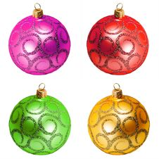 Free Christmas Ball Royalty Free Stock Image - 35686646