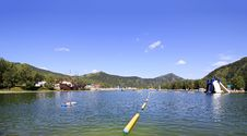 Free Artificial Lake Stock Photos - 35690473