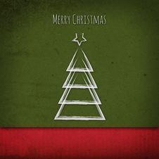 Free Vintage Christmas Tree Stock Images - 35691294